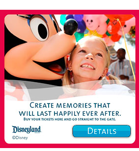 Promo Disney Tickets